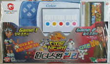 Bandai Color WonderSwan Game Console Crystal Blue with Digimon RPG NEW