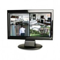 Swann 15 Lcd Security Monitor/high Resolution Colour Screen /tft Lcd /vga Input