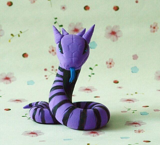 Handmade Naruto Shippuden Snake Manda Nendoroid Petite | eBay