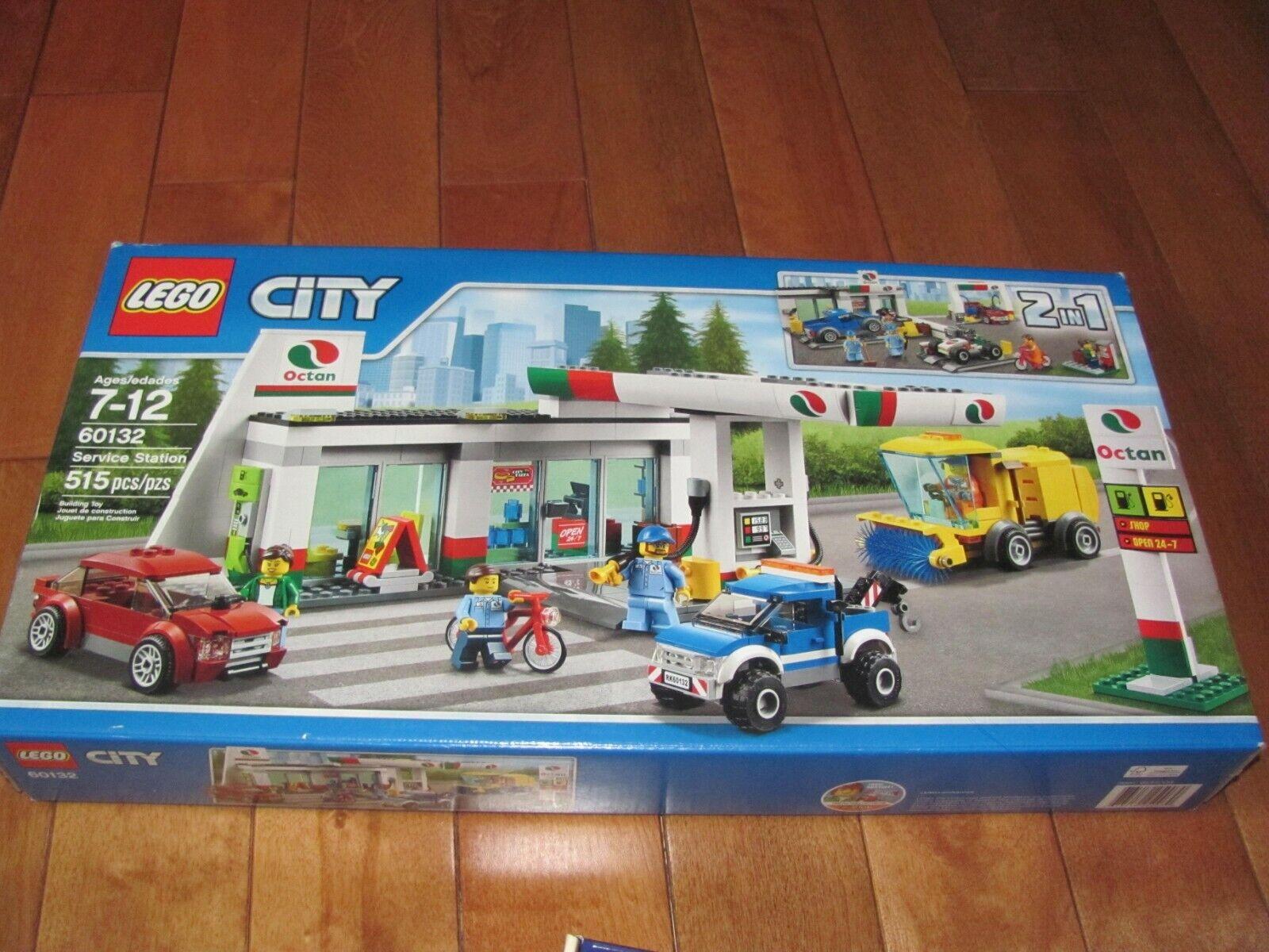 Lego City  60132 estación de servicio 515 piezas retirado Nuevo Sellado