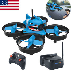 Blue-Shark-FPV-Racing-Drone-with-5-8G-40CH-1000TVL-Camera-Goggles-RC-Quadcopter