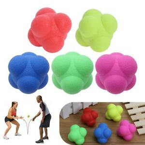 Silicone-Hexagonal-Hex-Ball-Solid-Fitness-Training-Exercise-Reaction-Sport-Balls