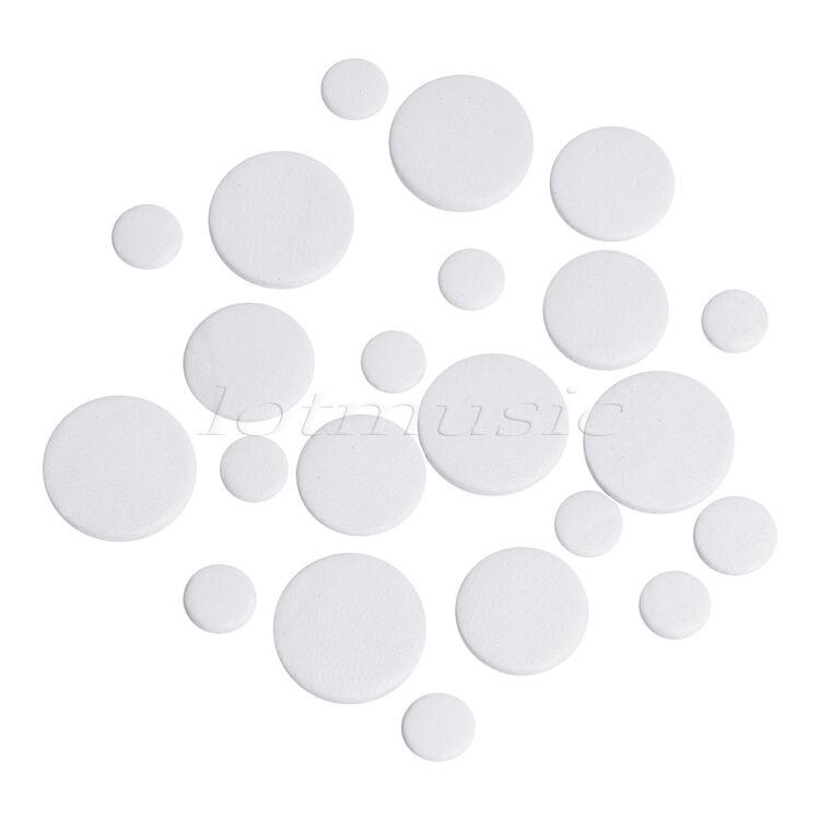 10 Sets Deluxe Basson almohadillas de de de grado superior de cuero almohadillas blancoo 1e699e