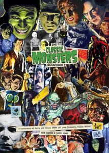 Classic-Monsters-Scrapbook-Magazine-Horror-Movie-Facts-amp-Trivia