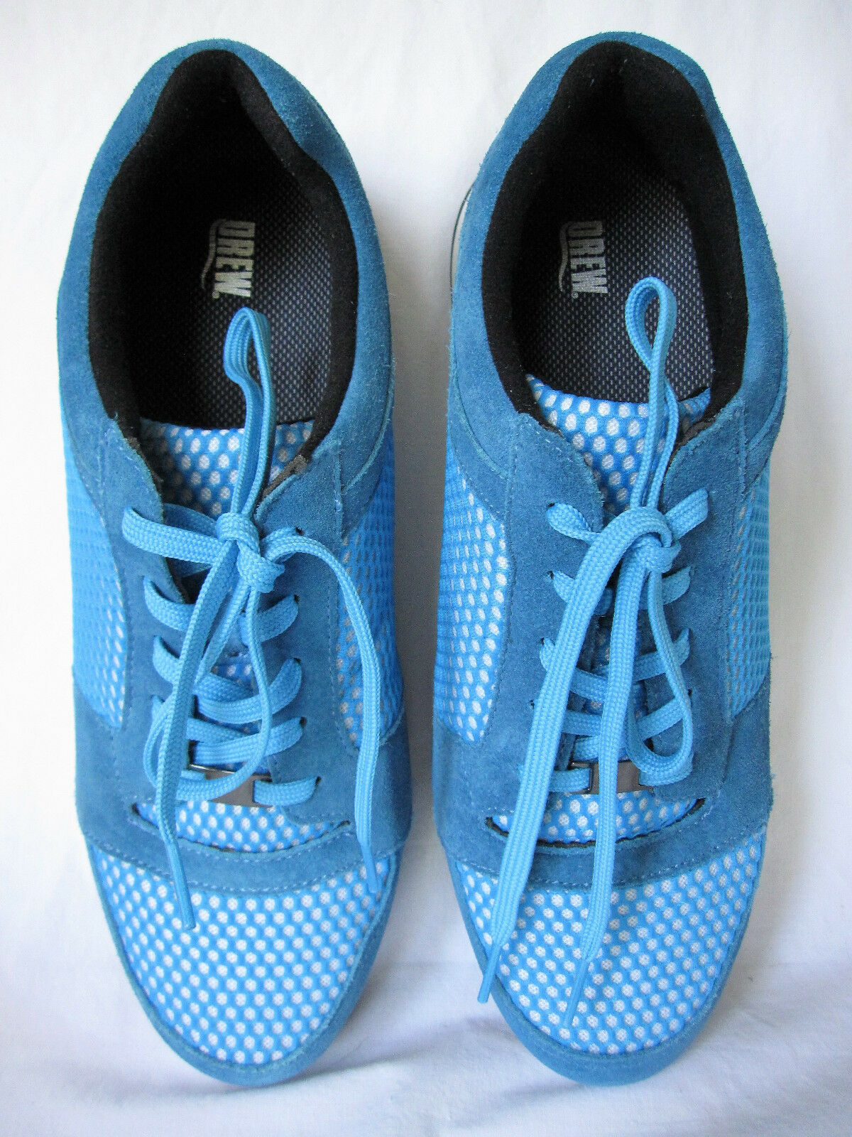 Drew Gemini bluee Suede Walking shoes Leather & Textile Upper Size 13 Med NEW