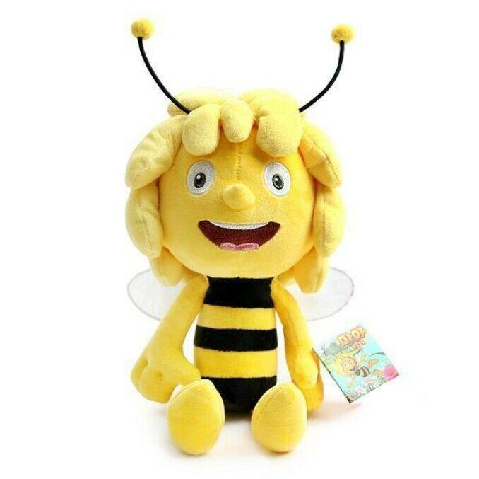 35cm Maya The Bee Doll Honey Movie Character Rag Plush Soft For Kids Gift_ig