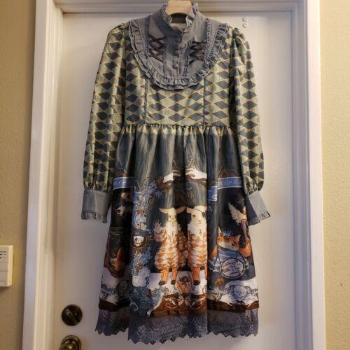 Gothic Lolita Victorian Cosplay dress