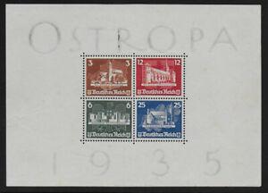 Dt-Reich-OSTROPA-Block-1935-MH-CV-1-560
