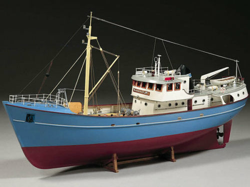 Billing Boats Nordkap North Sea Trawler Model Boat Kit B476