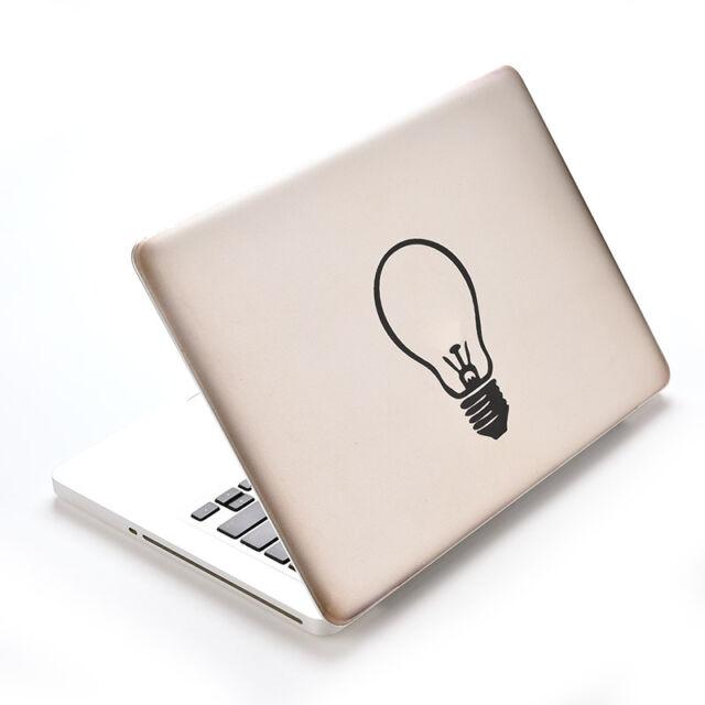 Bulb Vinyl Decal Sticker Skin for Laptop MacBook Air/Pro 11