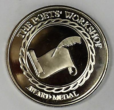 # 6333c Poets' Workshop Copper Nickel Medal, Poet Laureate Modieuze Patronen