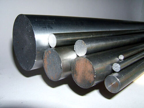 """Bright Mild Steel Round 1//4/"""" 6.3mm"""