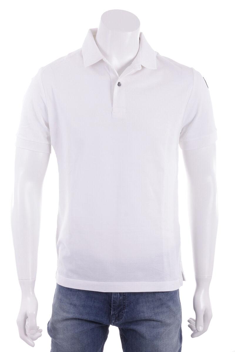 BALLANTYNE Maglia Maglietta Polo Uomo Uomo Bianco bianca
