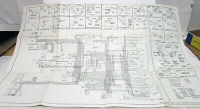 1964 Cadillac Dealer Chassis Wiring Circuit Diagram Poster ...