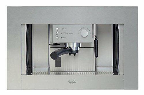 Whirlpool- Cafetera Encastre Ace010Ix, Espresso Semi-Automatica 15 Bar 220-240 V