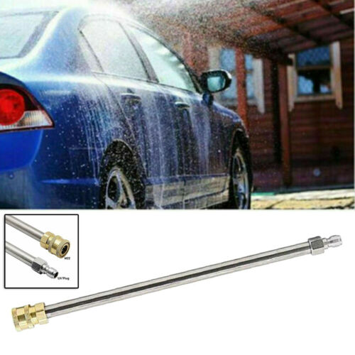 1//4 Inch Quick Connect High Pressure Power Washer Gun Extension Wand 4000 PSI