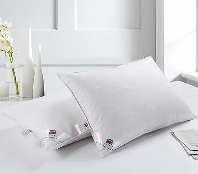 Luxury Hotel Quality Duck Feather Pillow w/ Extra Filling