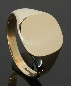 9-Carat-Yellow-Gold-Gents-Plain-Cushion-Signet-Ring-Size-Q-80-19-631