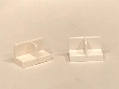 Medium Azure Panel 1 x 2 x 1 w Center Divider No 93095 LEGO Parts QTY 10