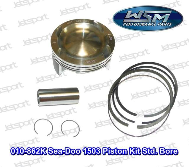 010-862K Sea-Doo 1503 Piston Kit Std. Bore