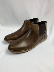 cd51979bc5e Details about Steve Madden Impass Chelsea Mid Boot Dark Brown Size 9M $100  NEW With The Box