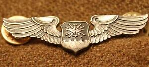POST-WWII US USAF NAVIGATOR BALFOUR 2 INCHES SHIRT WINGS