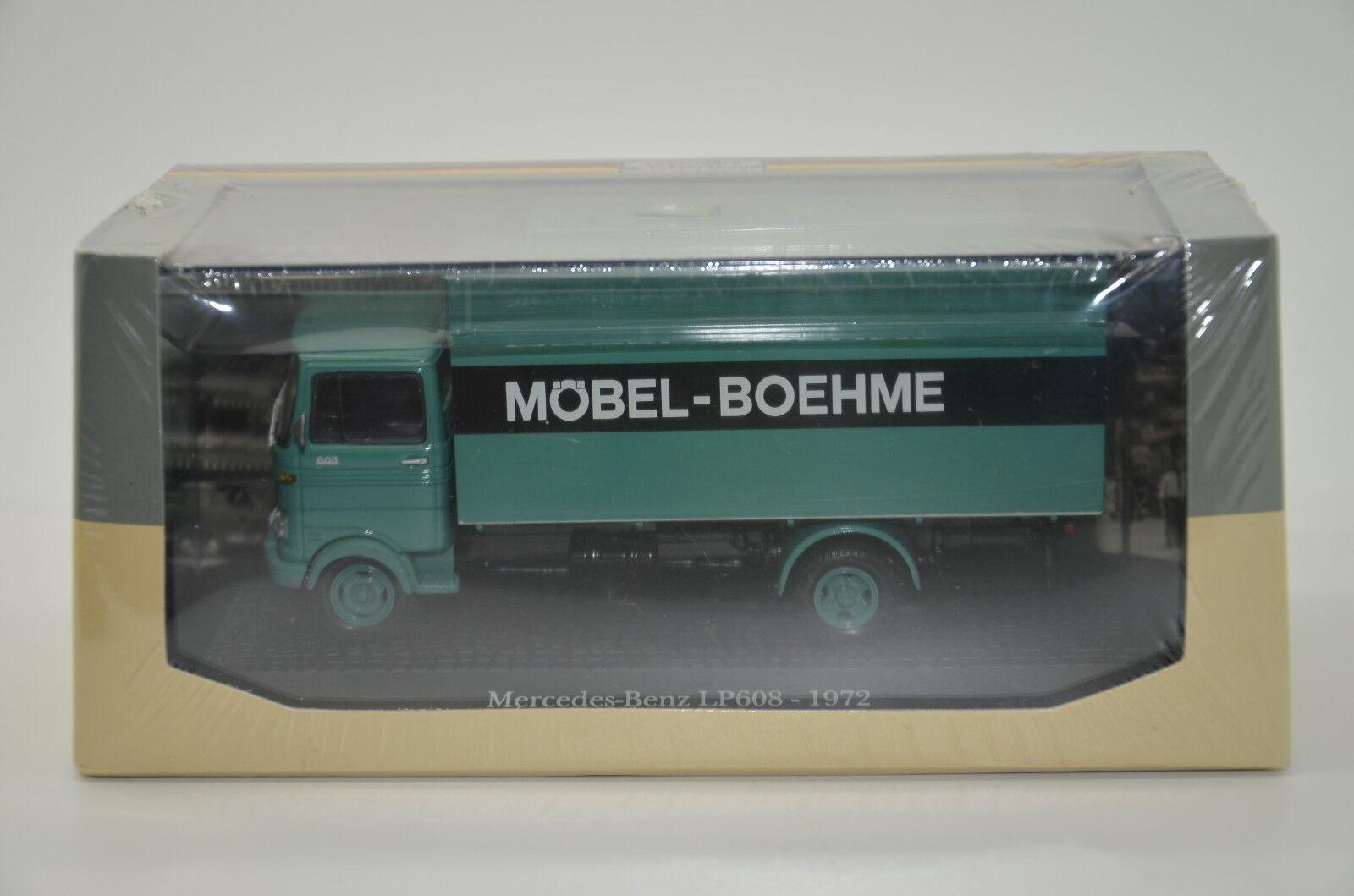 Rare   Mercedes LP608 Mobel - Boehme 1972 Atlas 1 43