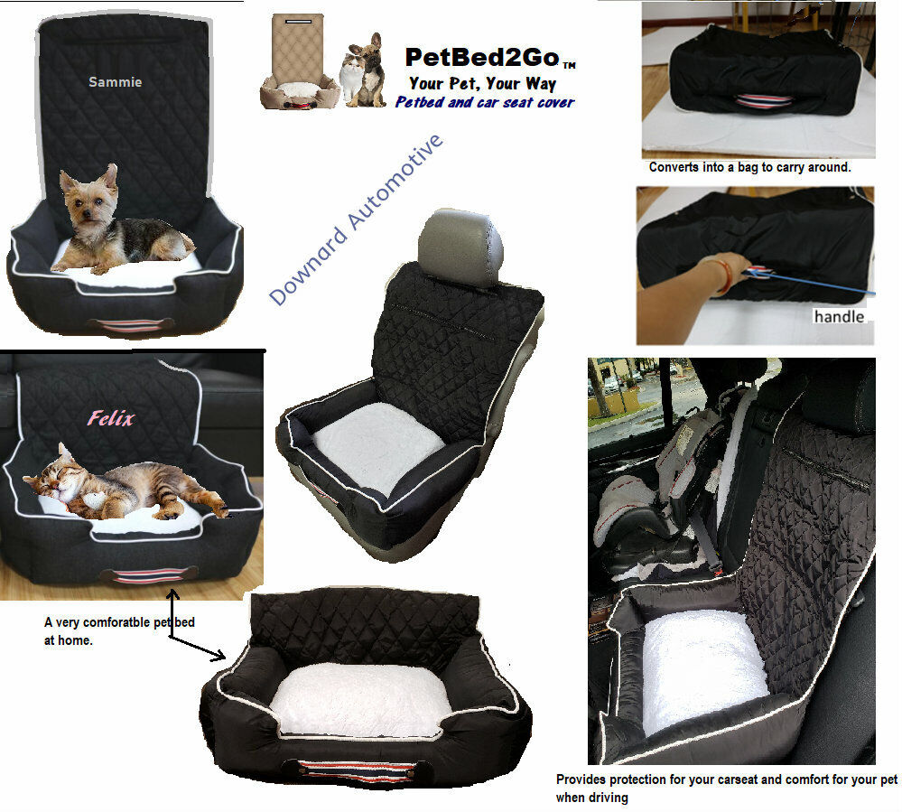 Pet Bed Personalized Portable Travel Pet Bed    Seat Cover