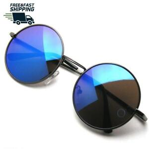 a52469db37f John Lennon Round Sunglasses For Men Women Polarized Uv Protection ...