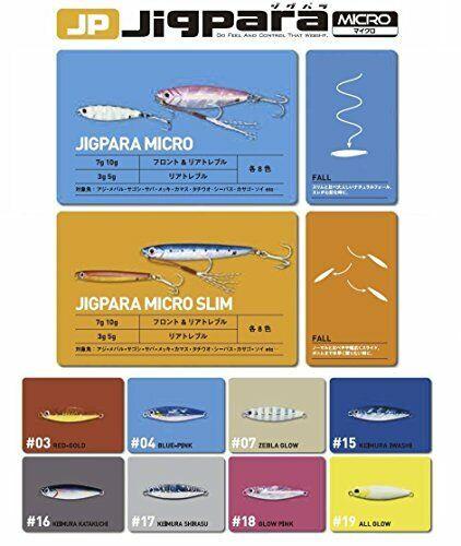 Major Craft Lure Metal Jig Jig Para Micro 5g # 16 Keimura Kata Tachi