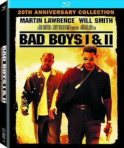 BAD-BOYS-1-amp-2-BLU-RAY-2-DISC-BOXSET-WILL-SMITH-20TH-ANNIVERSARY-4K-REMASTERED