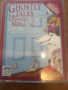 GHOSTLY-TALES-FOR-GHASTLY-KIDS-AUDIO-CASSETTE-TAPE-JAMIE-RIX-ANDREW-SACHS