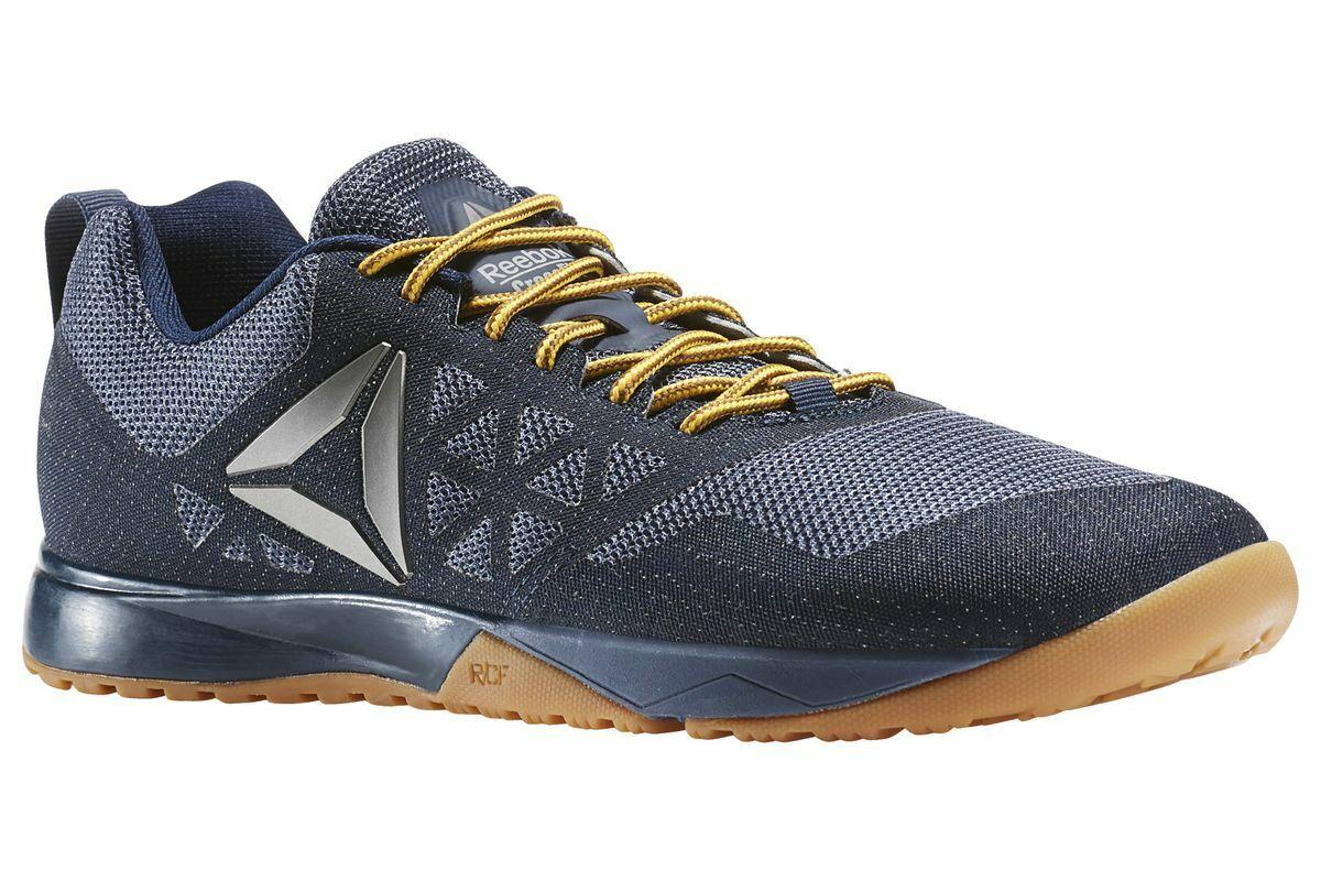 Reebok Crossfit Nano 6.0 Homme Taille formation chaussures denim navy Slate AR3290 noir