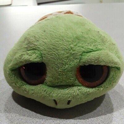"NEW Zippy The Green Turtle 6/"" Plush Beanie Boos Toy Doll TY"