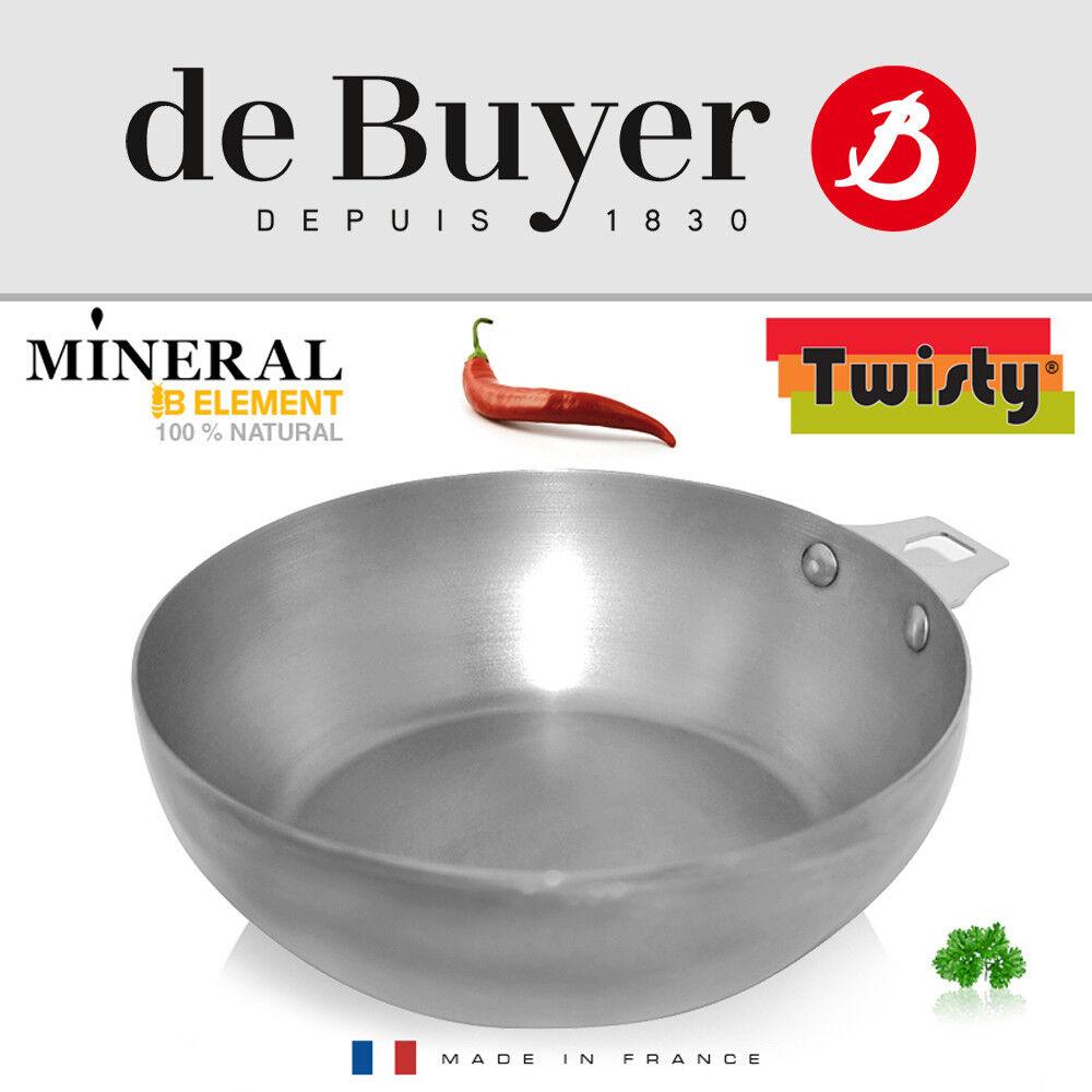 De Buyer-Minérale B Elément Round landpfanne 24 cm