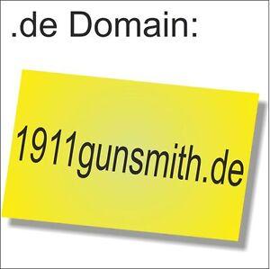 Business-Domain:1911gunsmith.de