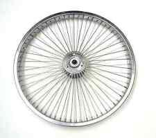 Lowrider Two Chrome 16 72 Soke Hollow Hub Wheels for Trike