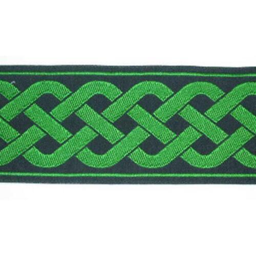 "19mm 3//4/"" Celtic Knot Jacquard Ribbon Trim x  Various Lengths /& Colours"