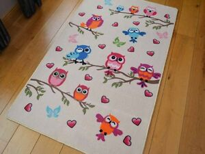 Image Is Loading New Bright Cute Owl Design Small Large Kids