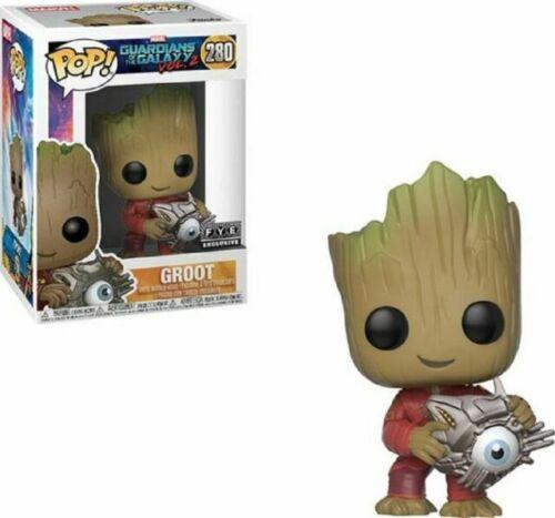 """2 Groot avec Cyber Eye 3.75/"""" POP Vinyl Figure FUNKO Guardians of the Galaxy Vol"""