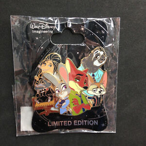 WDI DISNEY CHARACTER CLUSTER Chicken Little LE 250 Disney Pin