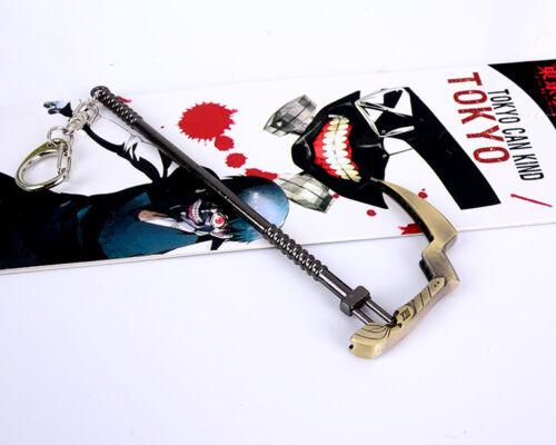 Anime Tokyo Ghoul JUUZOU SUZUYA REI Jason Sickle Hanging Keychains