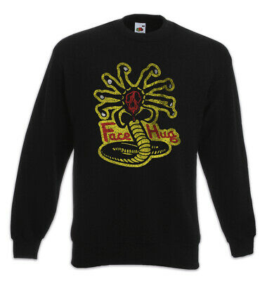 Responsible Facehugger Kai Sweatshirt Pullover Karate Alien Fun Kid Cobra Symbol Logo Aliens Clothing, Shoes & Accessories
