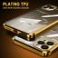 COVER-per-iPhone-12-Pro-Max-Mini-Custodia-Electro-Square-Vetro-Temperato-9H miniatura 1