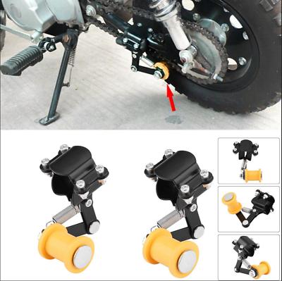 Azul JenNiFer Universal Heavy Duty Chain Alignment Tool Pi/ñ/ón Moto ATV Motor Bike Bike