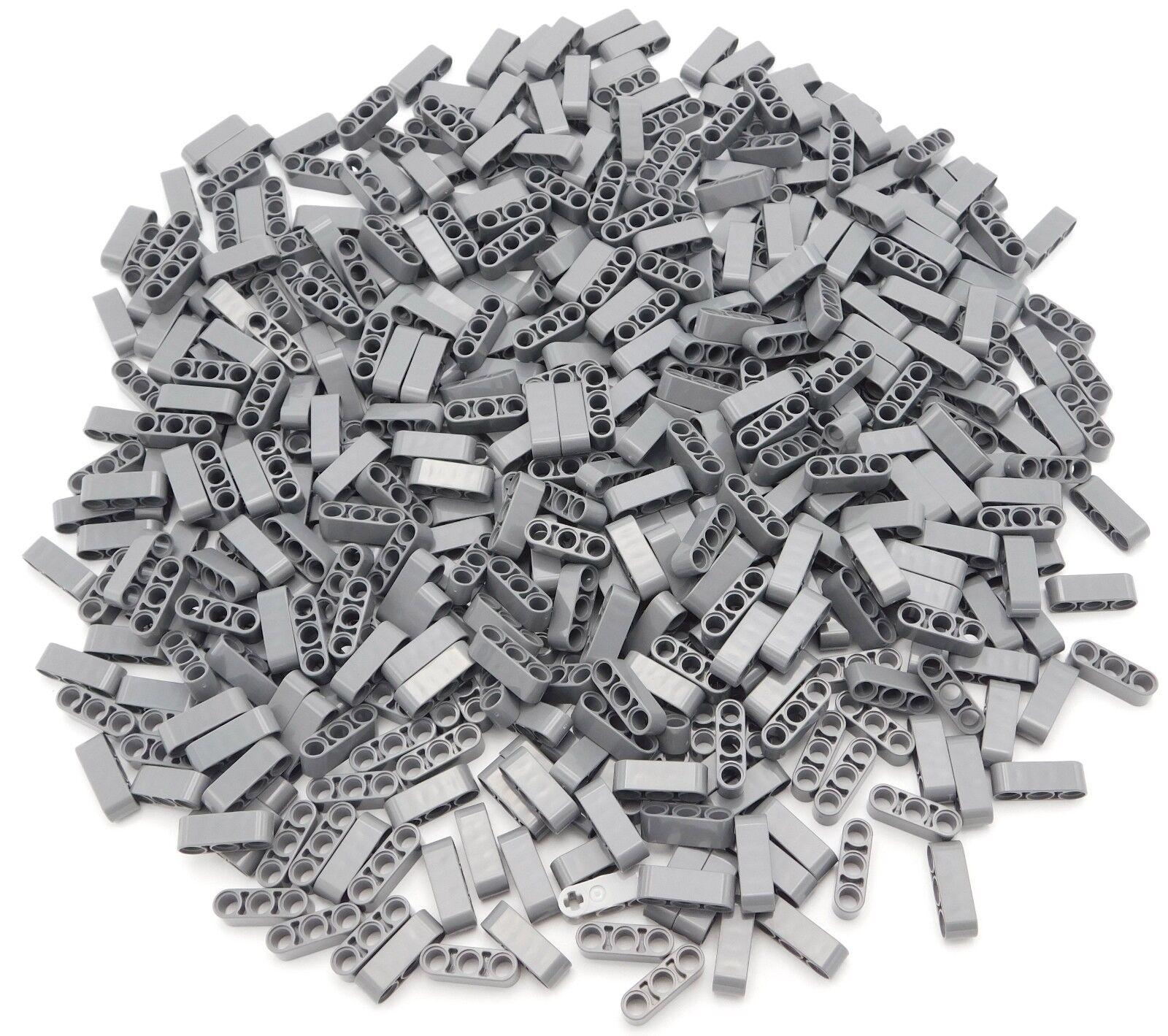 Lego Lotto di 500 Nuovo Scuro blueastro grey Technic Liftarms 1 x 3 Spessore