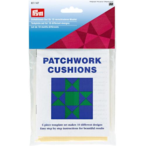 Prym galerías de símbolos-set para los patrones 10 patchwork con instrucciones 611147
