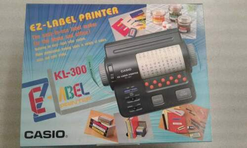 Casio KL300 EZ Label Printer Battery Operated JAPAN NEW KL-300 Casio Cool