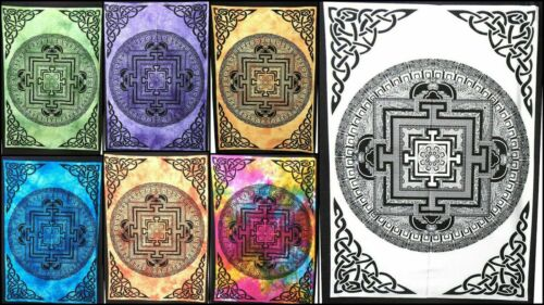 New VASTU YANTRA MANDALA Wall Tapestry Dorm Decor Hippie Poster Hanging Home Art