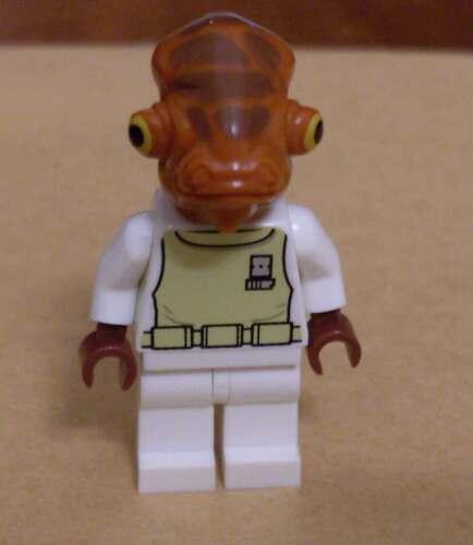 Lego Star Wars Admiral Ackbar Rebellen Minifigs Neu